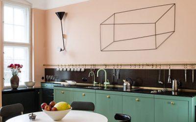 10 cozinhas lindas com paredes na cor rosa