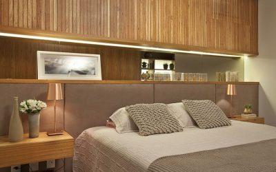 Cabeceira de cama:sofisticação e charme para o quarto